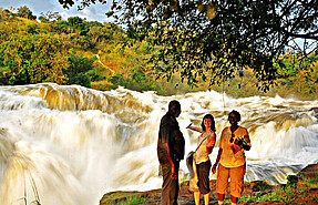 4 day flying safari to murchison falls and kibale chimpanzee trekking national park